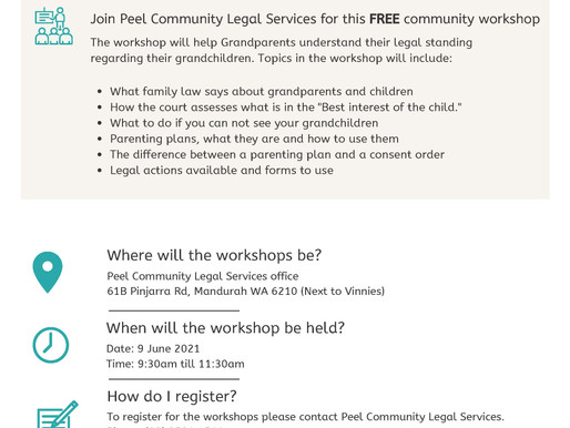 Grandparents and Family Law Information Session