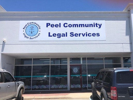 Peel Community Legal Services have moved !!!