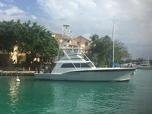 fishing boat Hattteras 53' yachts and fishin' tulum riviera maya cancun
