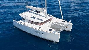catamaran Lagoon 40' yachts and fishin' tulum riviera maya cancun