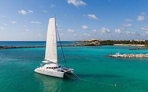 catamaran Lagoon 38' yachts and fishin' tulum riviera maya cancun