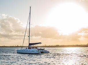catamaran fountaine 42' yachts and fishin' tulum riviera maya cancun
