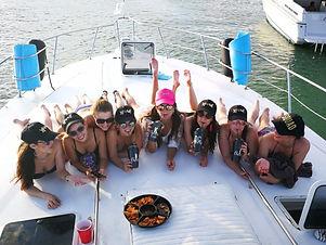 add on's bachelorette party yachts and fishin' charters riviera maya cancun tulum