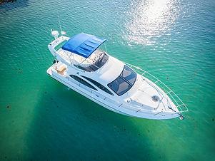 charter azimut 42' yachts and fishin' tulum riviera maya cancun
