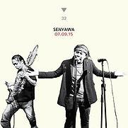 cover art for senyawa live in cafe oto