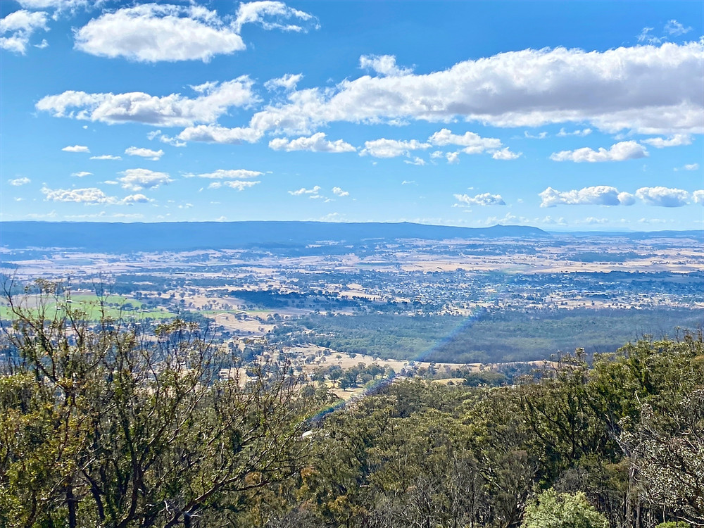 Tenterfield, from Mt Mackenzie Lookout