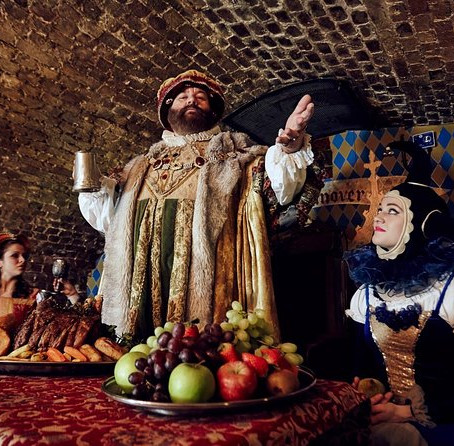 Attend a Medival banquet in London