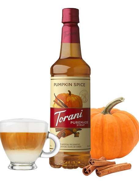 Pumpkin Spice Syrup for your Coffee Latte