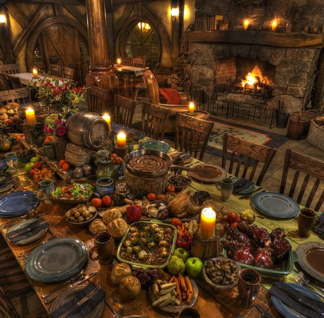 Hobbiton Movieset Banquet tour