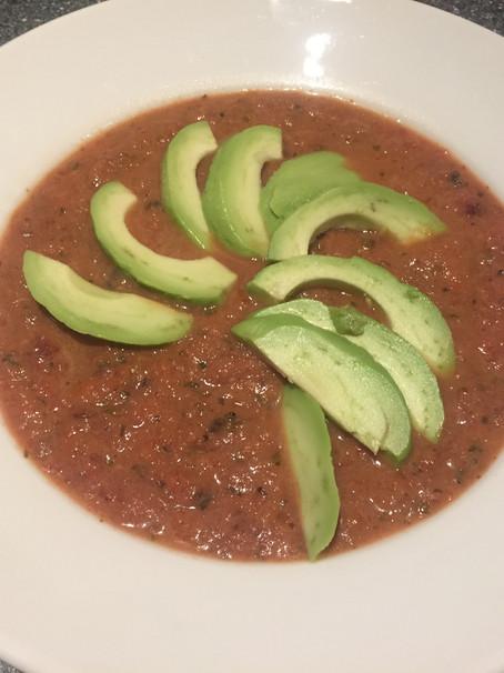 Vegan Thai tasting PULP vegetable Soup