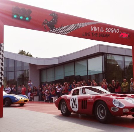 Ferrari Museum, F1 simulator, Maranello, Italy