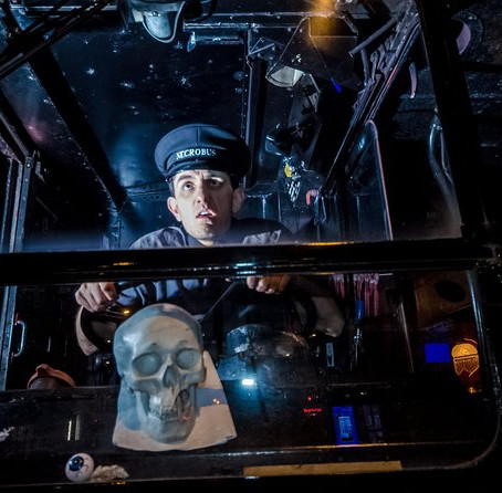 Take the Ghost Bus in London