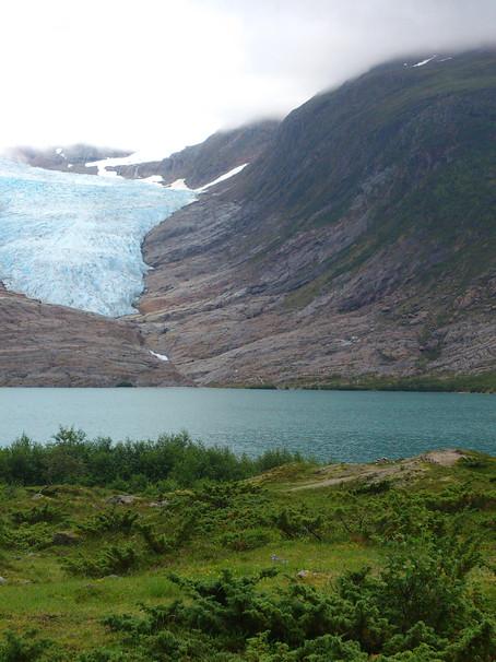 Svartisen- glacier (The Black ice)