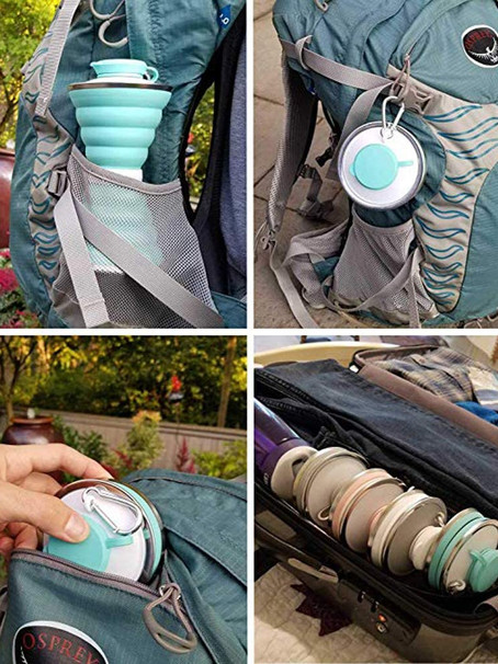 Collapsible Water bottle. The Christmas idea of the day!