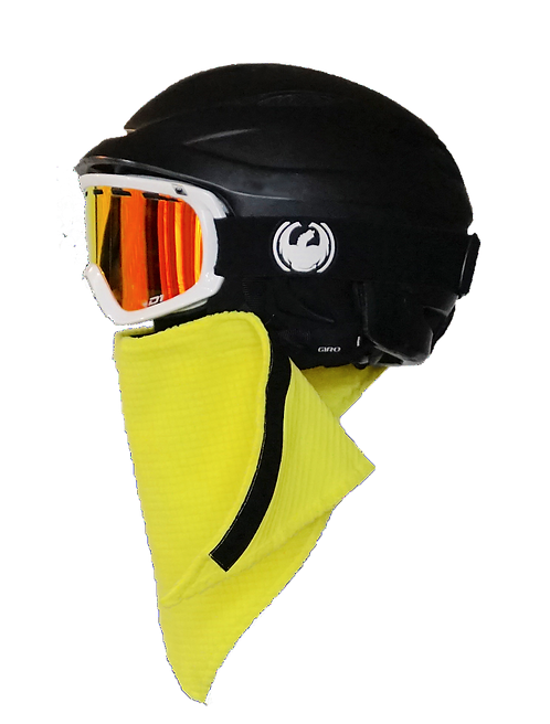Ski & Snowboard Caution Yellow