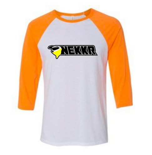 Kids Raglan Tee Orange