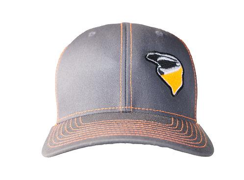 Nekkr Hat Orange Logo