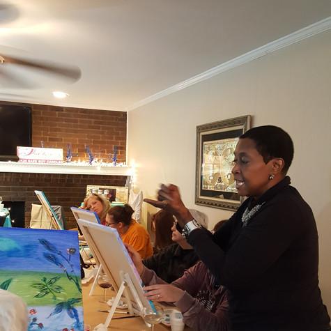 Jackie Holloway, artist