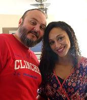 Kevin and Kaviandra James