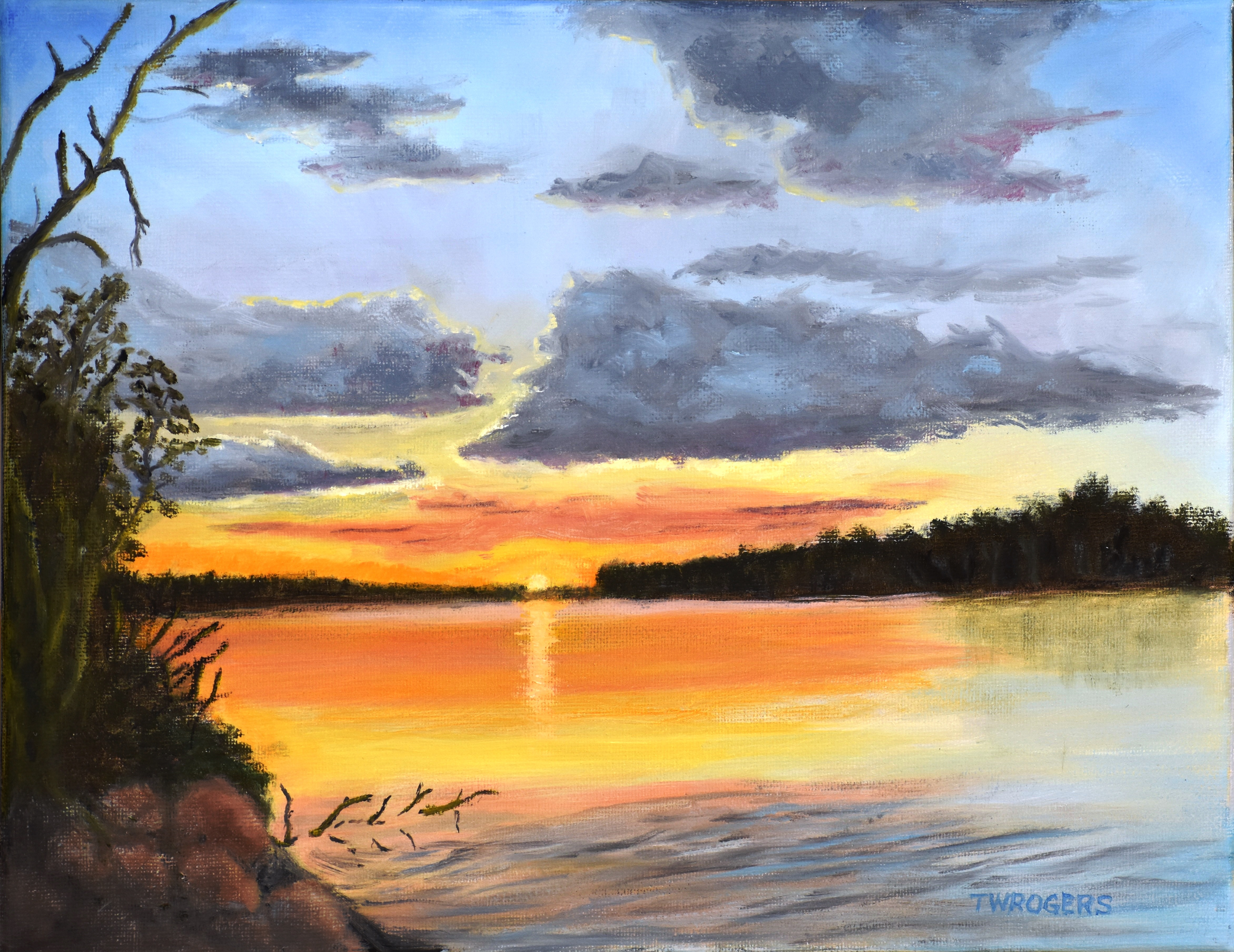 Todd_Huron River Sunset (2)