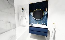 3D projet salle de bain Anglet