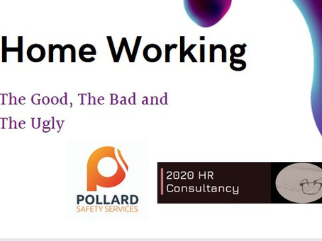 Homeworking: The Good, The Bad and The Ugly