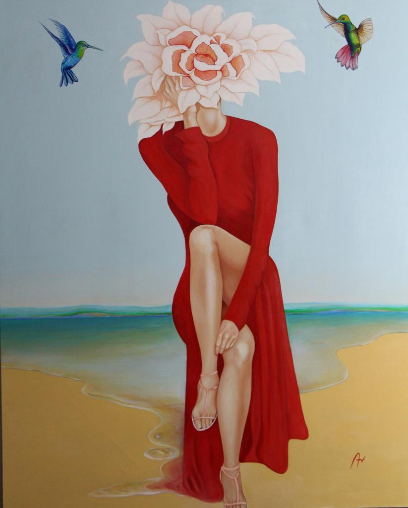 AVI NETO - MOTHER NATURE - 100x120 cm