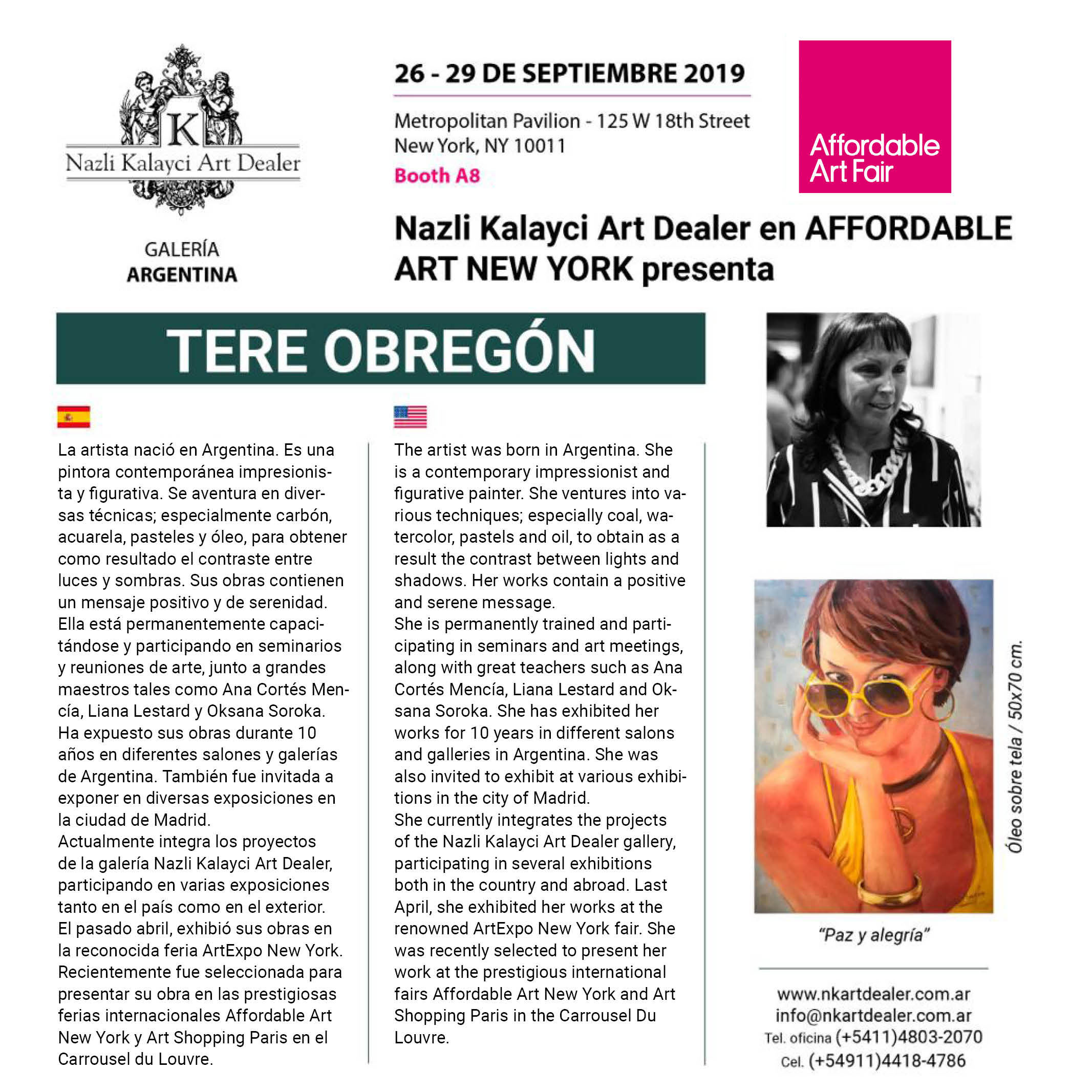 Tere Obregon - Affordable Art