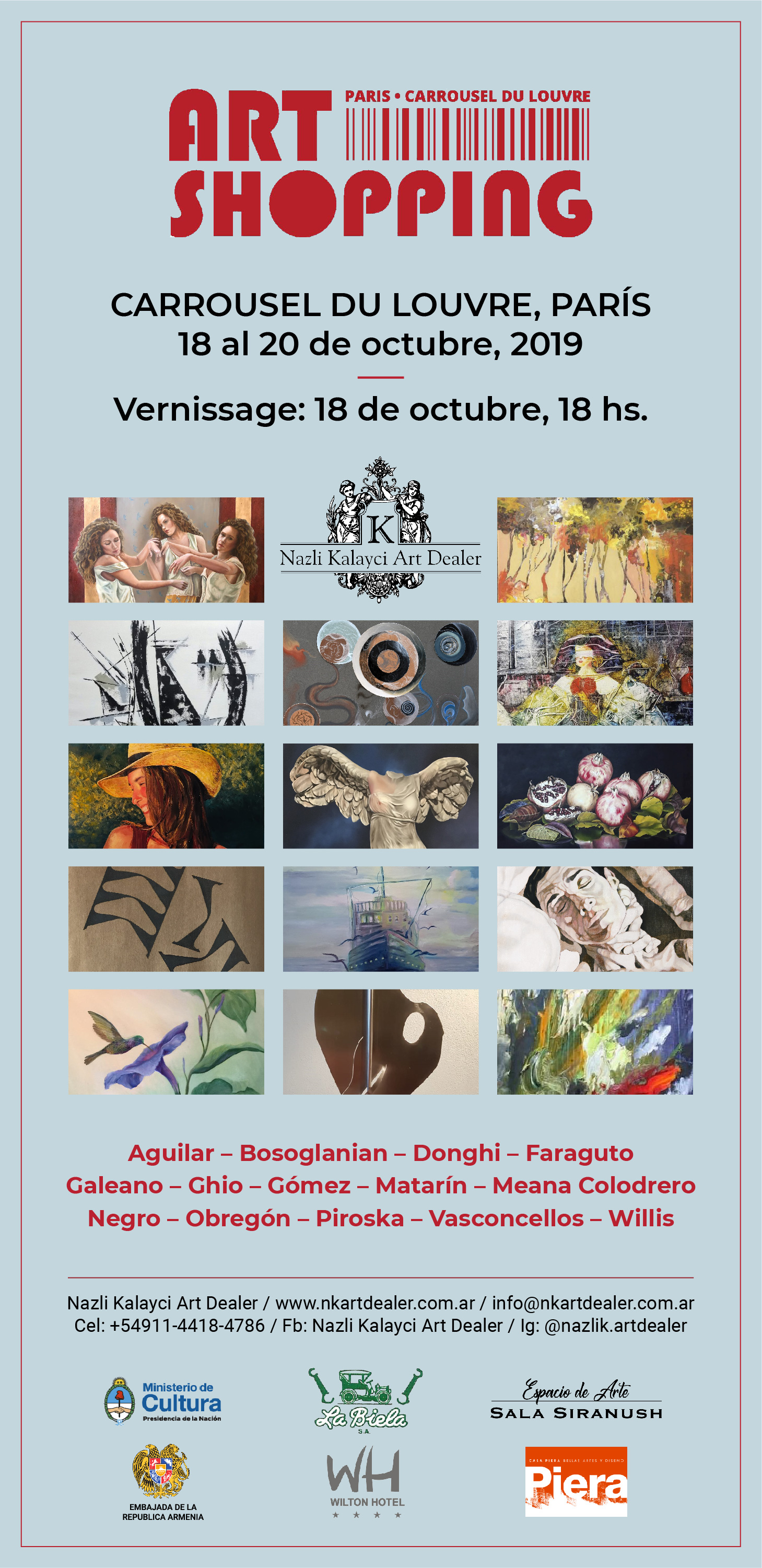 Flyer Art Shopping Paris 2019-01