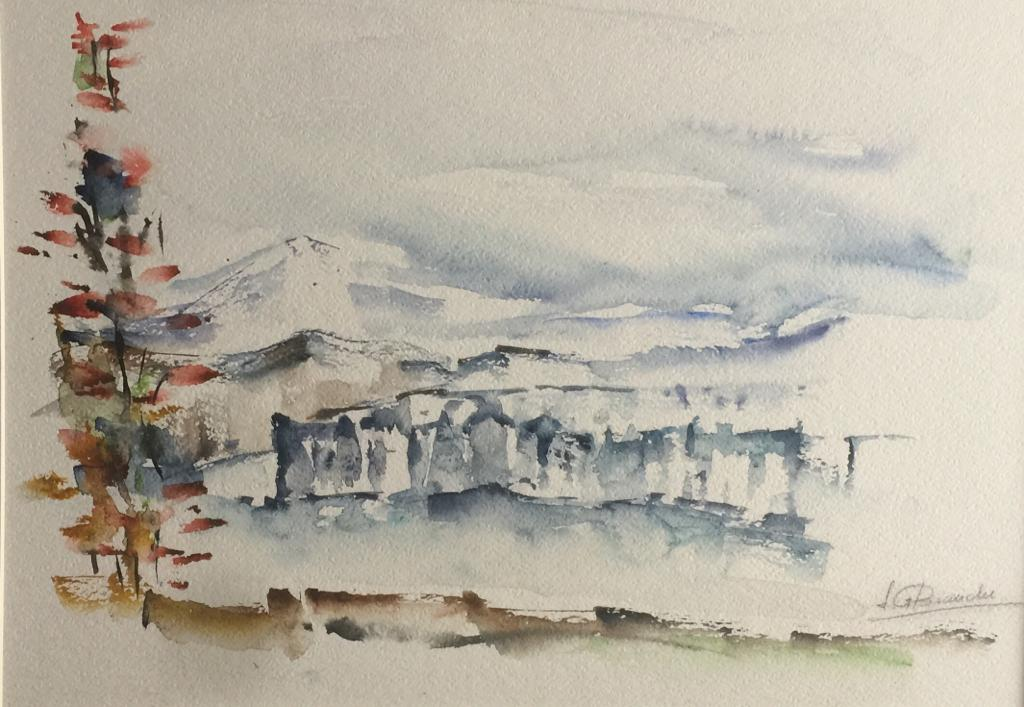 SUSANA BIANCHI - serie paisaje IV - 34x4
