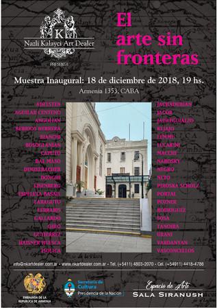 Flyer Arte Sin fronteras con Artistas.jp