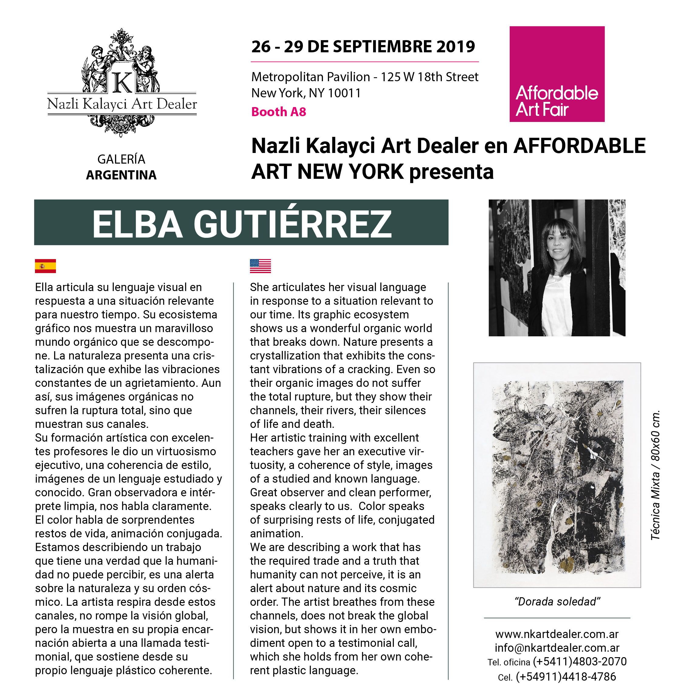 Elba Gutiérrez - Affordable Art