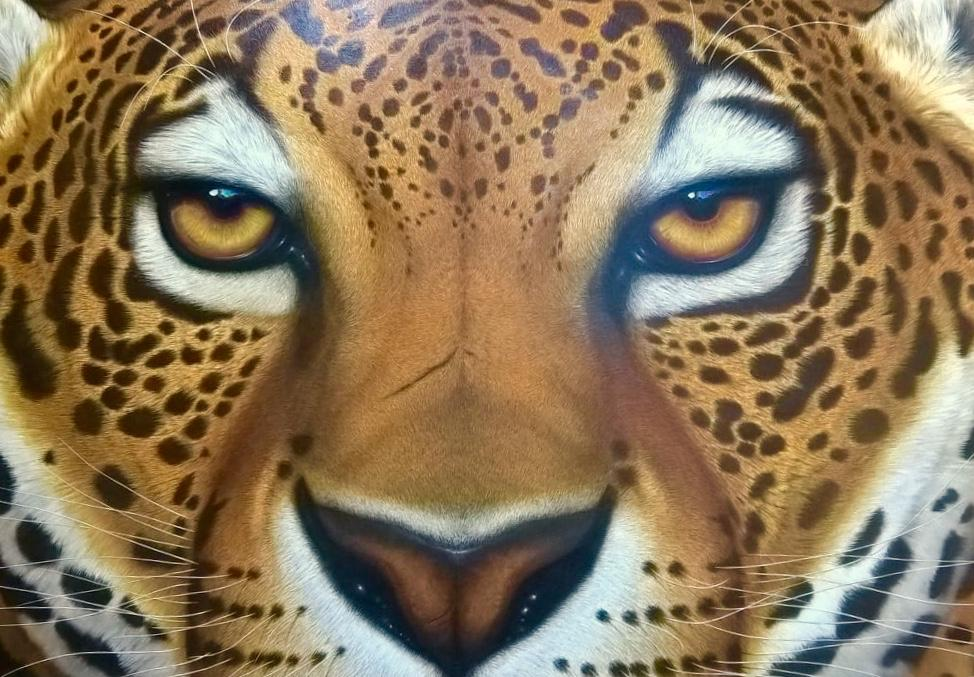 AMADOR TANOIRA - Tigre - 100x150 - Oleo.