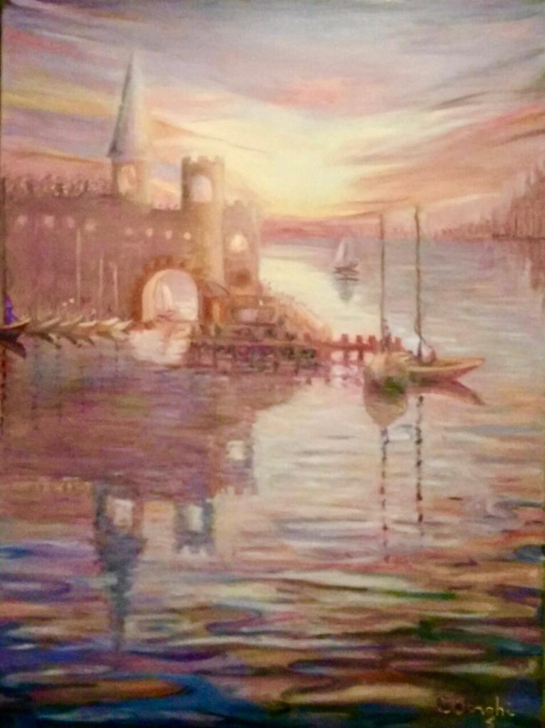 CRISTINA DONGHI - Muelle Medieval - 60x8