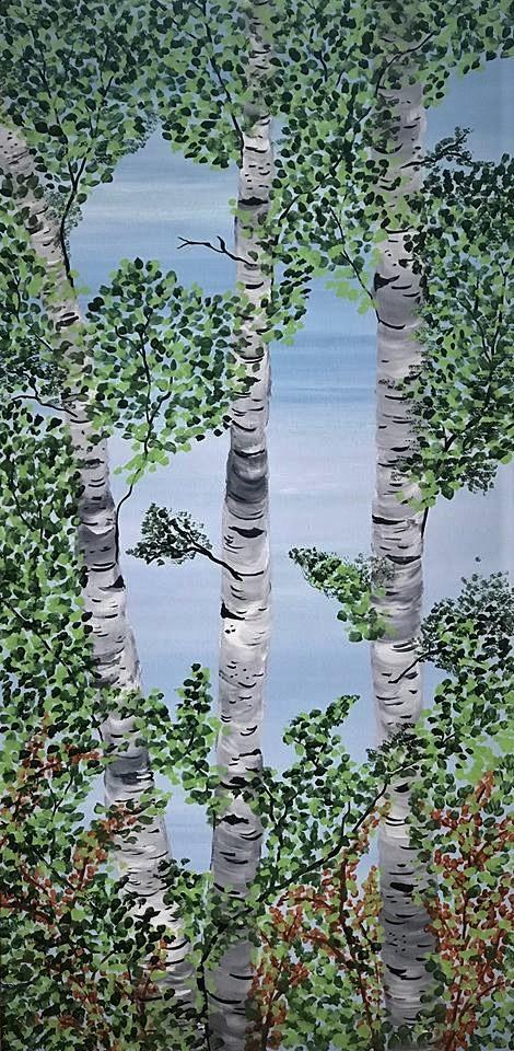 summer birches 1