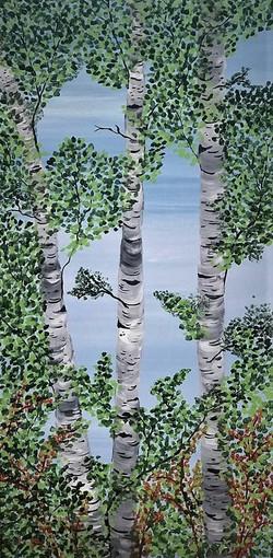 """""""Summer birches"""""""