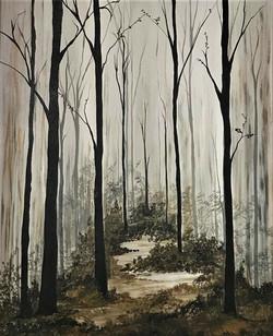 """Ways to the woods I"""
