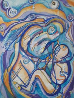 DARIO ISOLICA - Maternidad 77x100