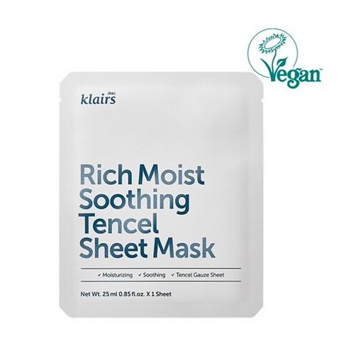 Klairs Тканевая маска с керамидами KLAIRS Rich Moist Soothing Tencel Sheet Mask