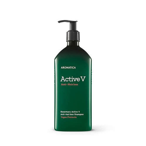 AROMATICA Шампунь против выпадения Active V Anti-Hair Loss Shampoo(400ML)