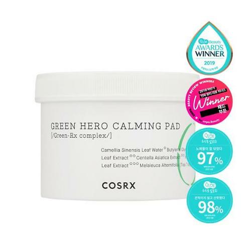 COSRX пэды успокаивающие One Step Green Hero Calming Pad