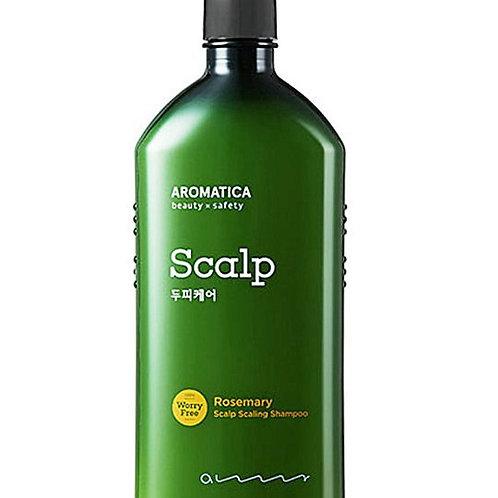 Aromatica Шампунь для укрепления и эластичности волос с розмарином 400мл