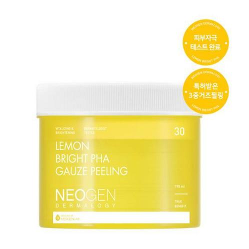 NeoGen Пилинг-пэды с лимоном для сияния кожи Bio-Peel Gauze Peeling Lemon