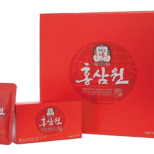 Напиток безалкогольный негазированный с экстрактом корейского красного женьшеня