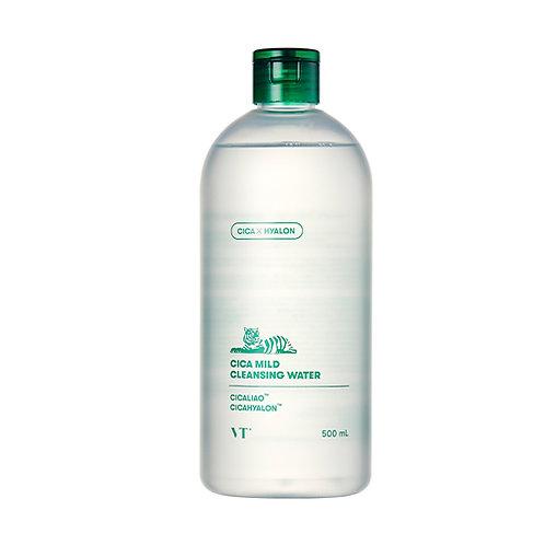 VT Cosmetics Вода очищающая VT CICA MILD CLEANSING WATER 500мл