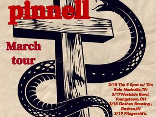 Jeremy Pinnell announces March TOUR dates!