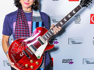 Congrats to Kelley Deal on her recent Q Gibson Les Paul Award.