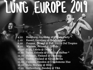Lung's heading to Europe!