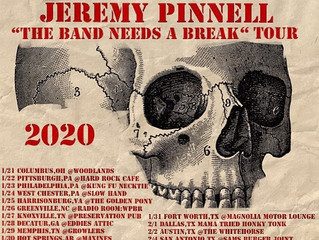 "Jeremy Pinnell announces ""The Band Needs a Break"" Tour 2020!"