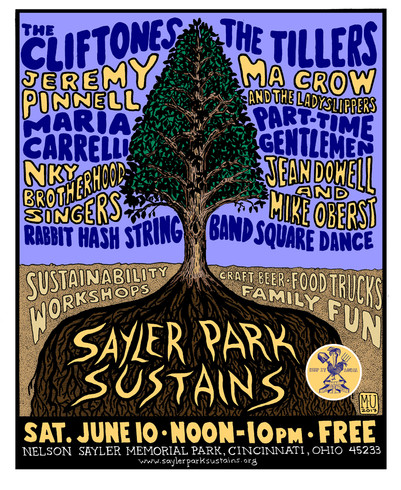 Jeremy Pinnell @ Sayler Park Sustains this Saturday 6/10!
